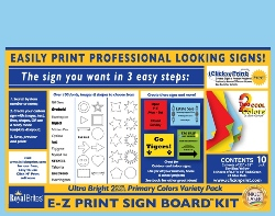 7d03999ccc7b E-Z Print Sign Board Kit