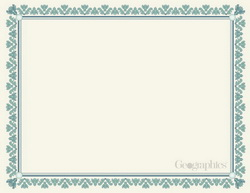 blank certificates geographics printable awards
