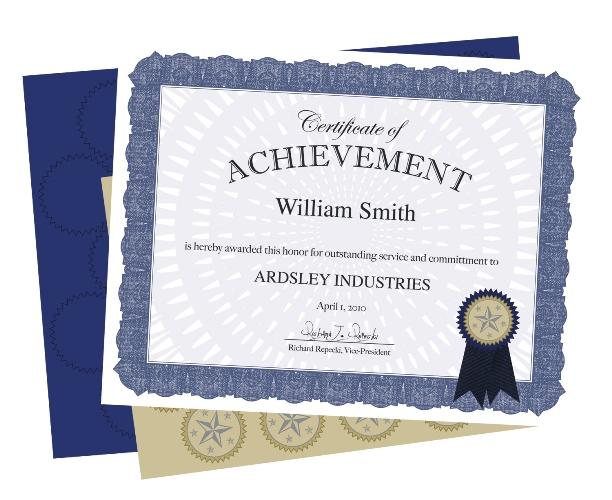 47860 blue ribbon award certificates geographics