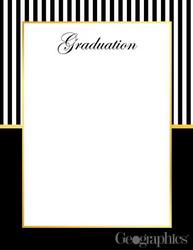 graduation stationery paper