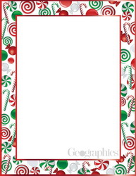 Christmas Stationery Cards & Paper Geographics