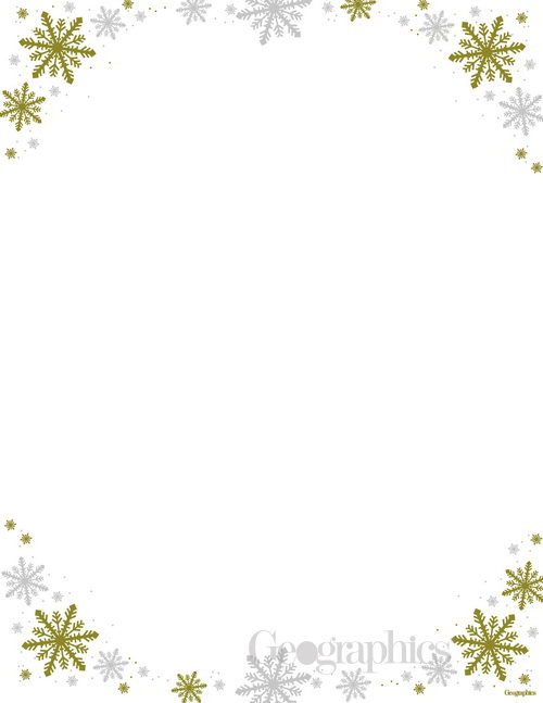 Frost christmas letterhead gold and silver foil thepaperseller frost christmas letterhead gold and silver foil 85x11 25pk maxwellsz