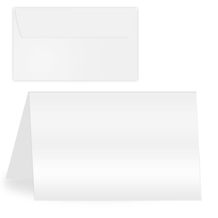 Glossy Matte Printable Greeting Cards W Envelopes