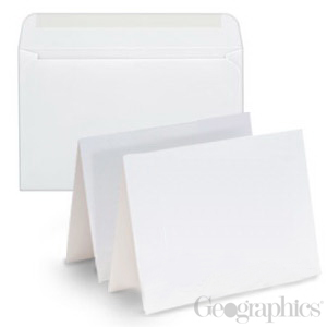 Blank cards greeting note cards in bulk case ream wholesale blank white matte greeting cards w envelopes 55x 85 m4hsunfo Gallery