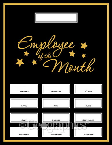 employee of the month kit case geographics