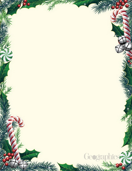 Christmas Decorations Letterheads