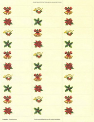 Christmas Icons Mailing Labels, 1x2.63, 150/PK