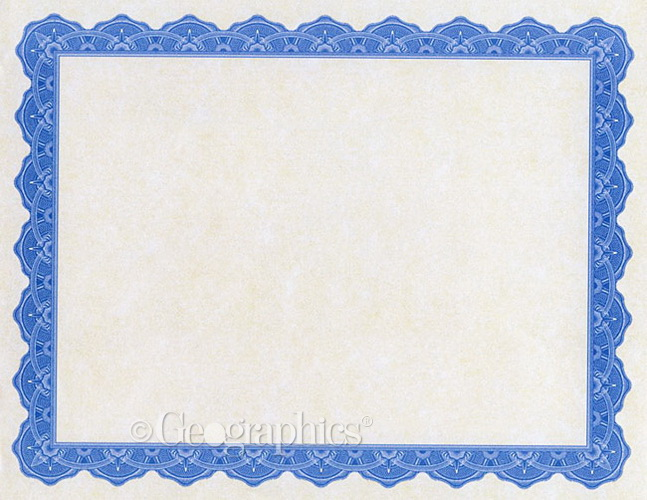 Copen Blue Award Printable Certificates 45640 Thepaperseller