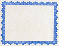 Blank Certificates & Foil Seals | Geographics Printable Awards