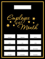 Employee of the Month Award Kit, 13 Pcs
