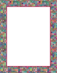 picture regarding Printable Staionary referred to as Floral Character Non secular Stationery Geographics Printable