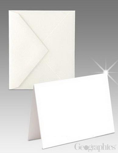 Laser glossy matte greeting cards w envelopes geographics glossy matte laser greeting cards w envelopes white 8 pt 55 m4hsunfo