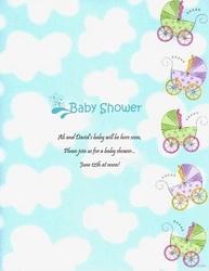 Baby Naming Ceremony Invitation Background