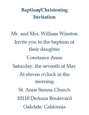baptism christening invitations wording free geographics word