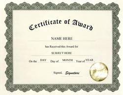 certificate of recognition wording - Hizir kaptanband co