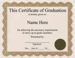 ThePaperSeller  Certificate Of Completion Free Template