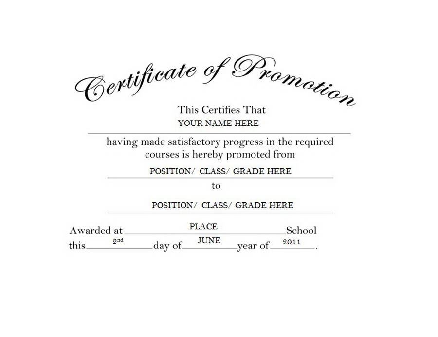 text for certificate of recognition