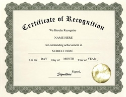 Awards certificates free templates clip art wording geographics certificate of recognition clip art wording yelopaper Images
