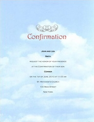 graphic relating to Free Printable Confirmation Cards identified as affirmation invites templates absolutely free - Kadil