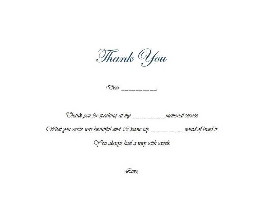 Funeral thank you notes 4 wording free geographics word templates funeral thank you notes wording 4 thecheapjerseys Image collections