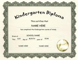 Awards diplomas free templates clip art wording geographics kindergarten diploma clip art wording 2 yelopaper Images
