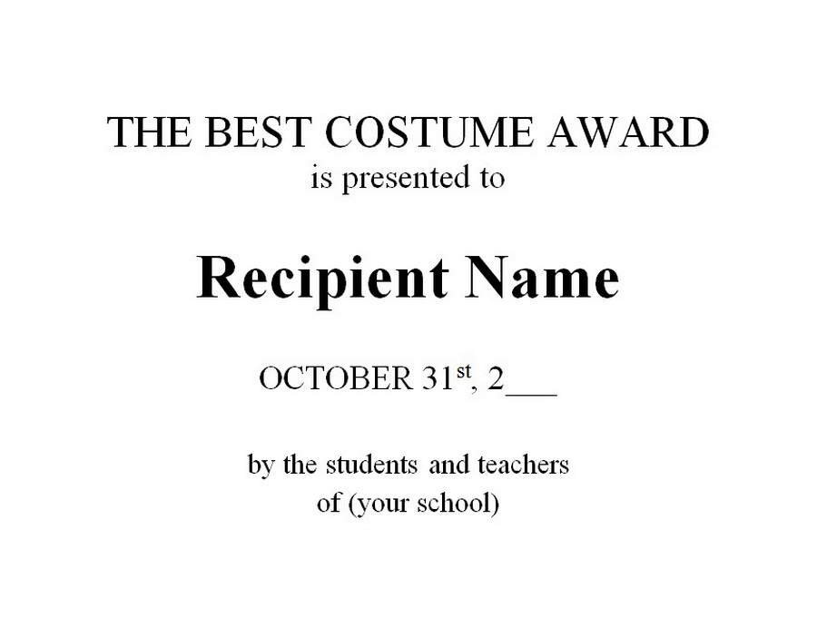 Awards free templates clip art wording geographics 2 the best costume award clip art wording accmission Choice Image