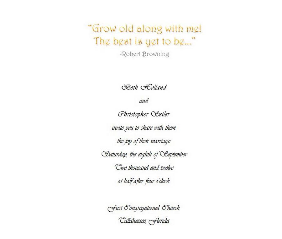 Wedding Invitations Bride Groom Hosting 2 Wording | Free Geographics ...
