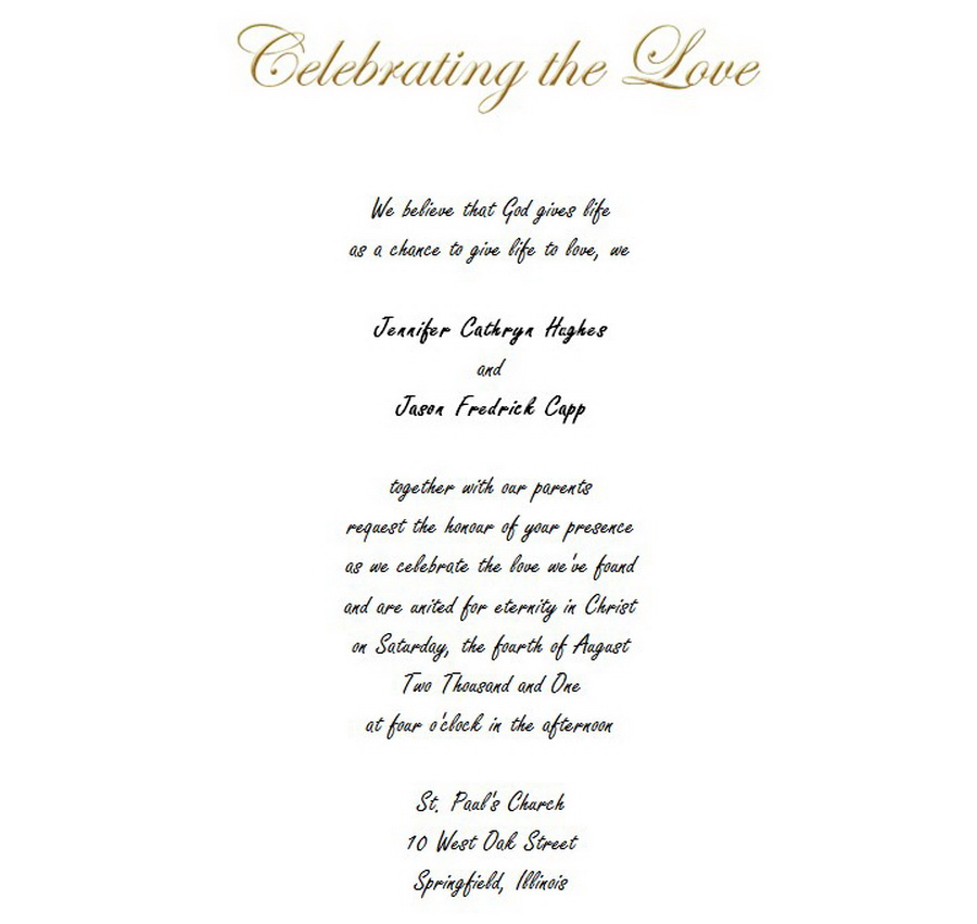 Wedding Invite Wording From Bride And Groom.Wedding Free Suggested Wording By Theme Geographics 2