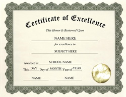 Certificate of excellence template hatchurbanskript certificate of excellence template yelopaper Choice Image