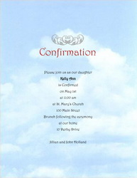 Confirmation invitations templates clip art and wording for Free printable confirmation invitations template