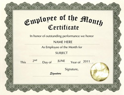 employee of the month certificate free template  employee certificate templates free - Targer.golden-dragon.co