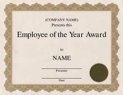 Free Award Templates with Wording |Geographics