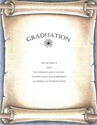 graduation announcement templates clip art wording geographics