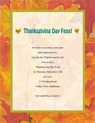 Free Thanksgiving Cards & Invitations Templates, Clip Art ...