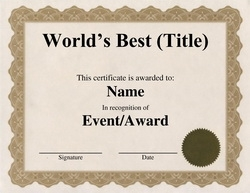 Free word certificate templates wording geographics 2 worlds best teacher template yelopaper Images